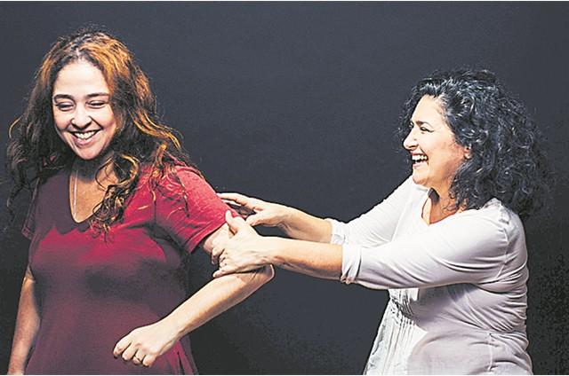 Debora Lamm contracenará com Inez Viana na peça 'Por favor venha voando' (Foto: Elisa Mendes)