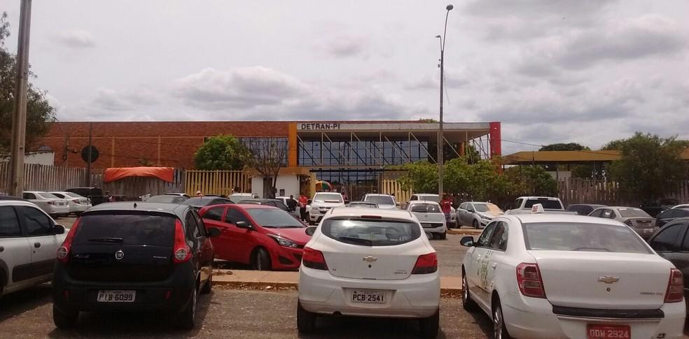 Sede do Detran-PI, em Teresina (Foto: João Cunha/G1)