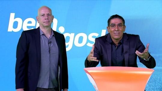 """Soy Loco por Copa América: Adnet imita Galvão e apresenta o """"Quase amigos!"""""""