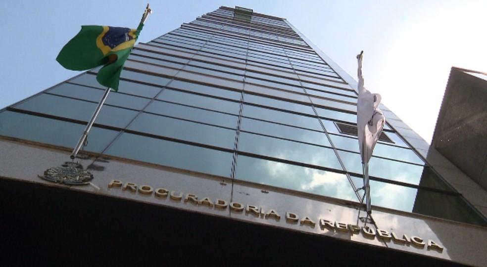 Sede do Ministério Público Federal (MPF) em Curitiba — Foto: Reprodução/ RPC Curitiba