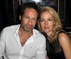 David Duchovny e Gillian Anderson   Divulgação