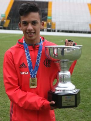 RN - Marcelinho, meia-atacante do América-RN - Flamengo (Foto: Gilvan de Souza / Flamengo)