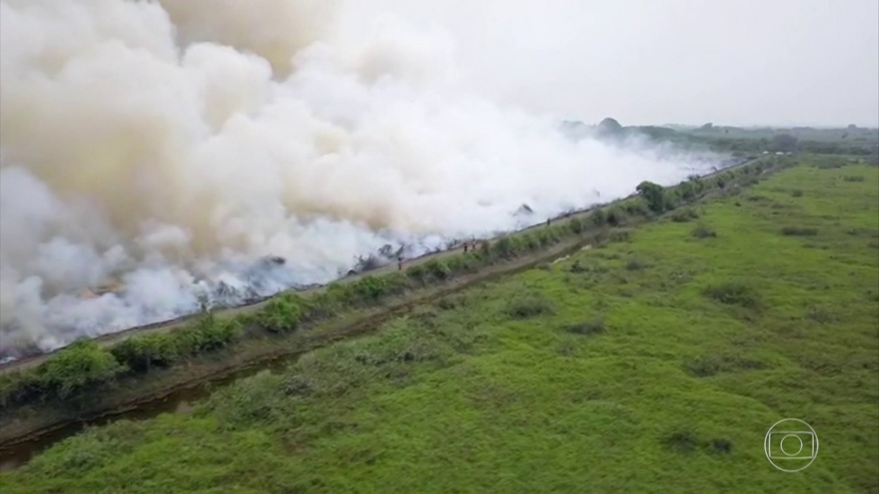 Pantanal de MS é castigado por incêndios acima da média