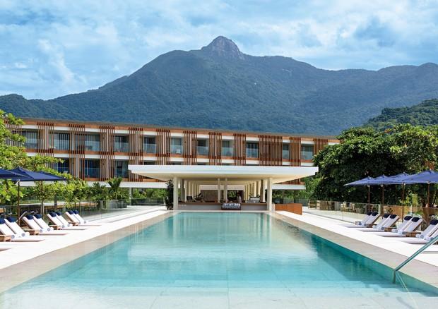 Piscina do hotel Fasano Angra dos Reis (Foto: Divulgação)