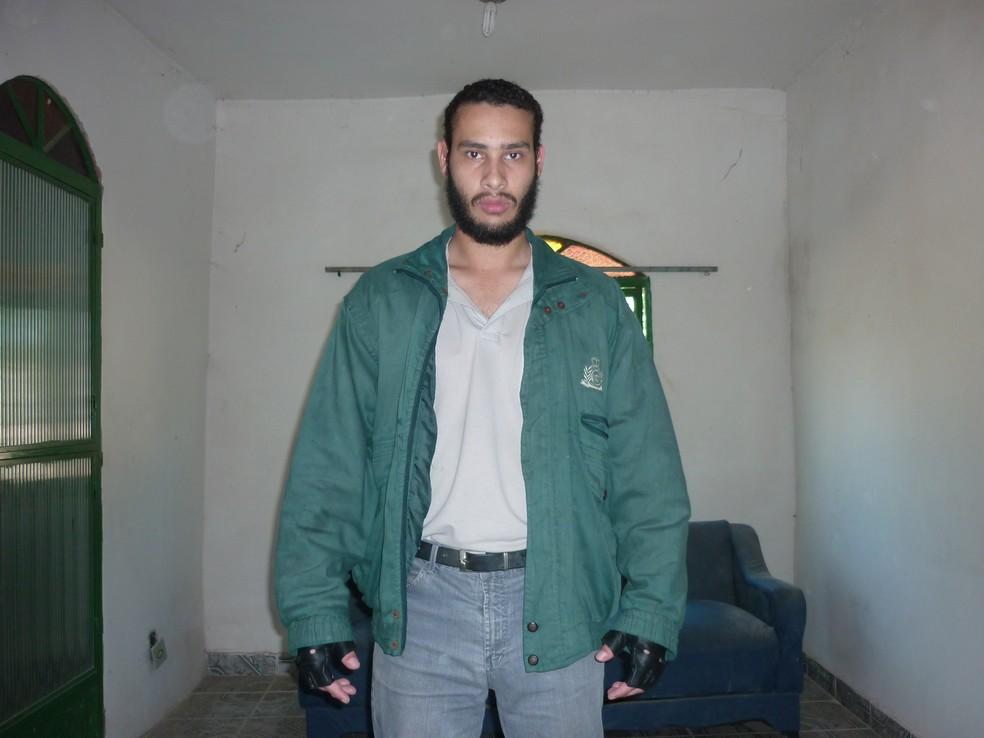 Wellington Menezes de Oliveira, homem que atirou contra escola municipal Tasso de Oliveira, em Realengo, em 2011 — Foto: Divulgação/Seseg
