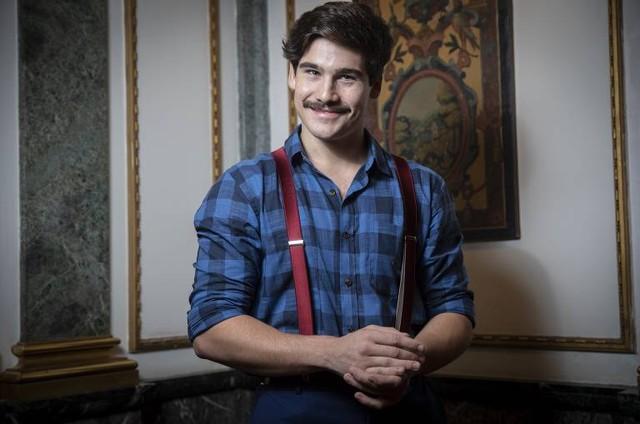 Nicolas Prattes, o Alfredo de 'Éramos seis' (Foto: Raquel Cunha/TV Globo)