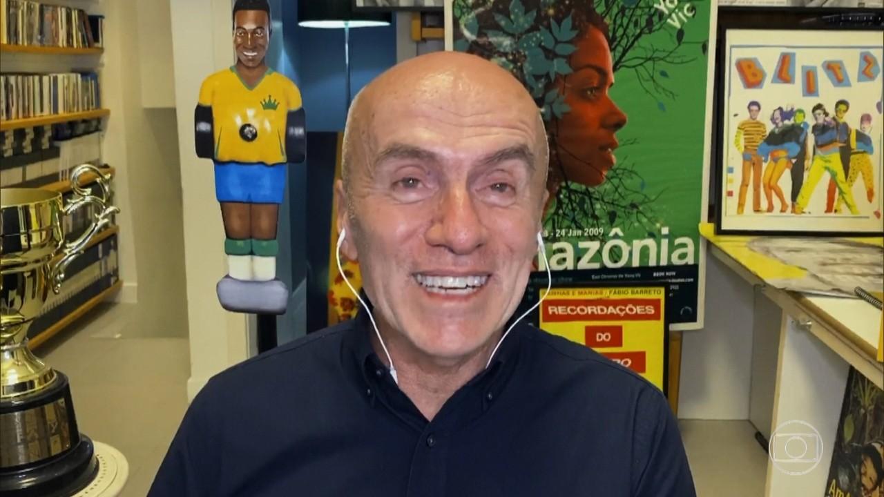 Gringo Cardia é responsável pela ExpoPelé80, o Rei do Futebol