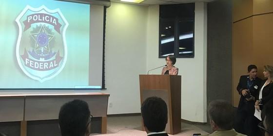 Erika Marena, nova superintendente da PF em Sergipe (Foto: ADPF)