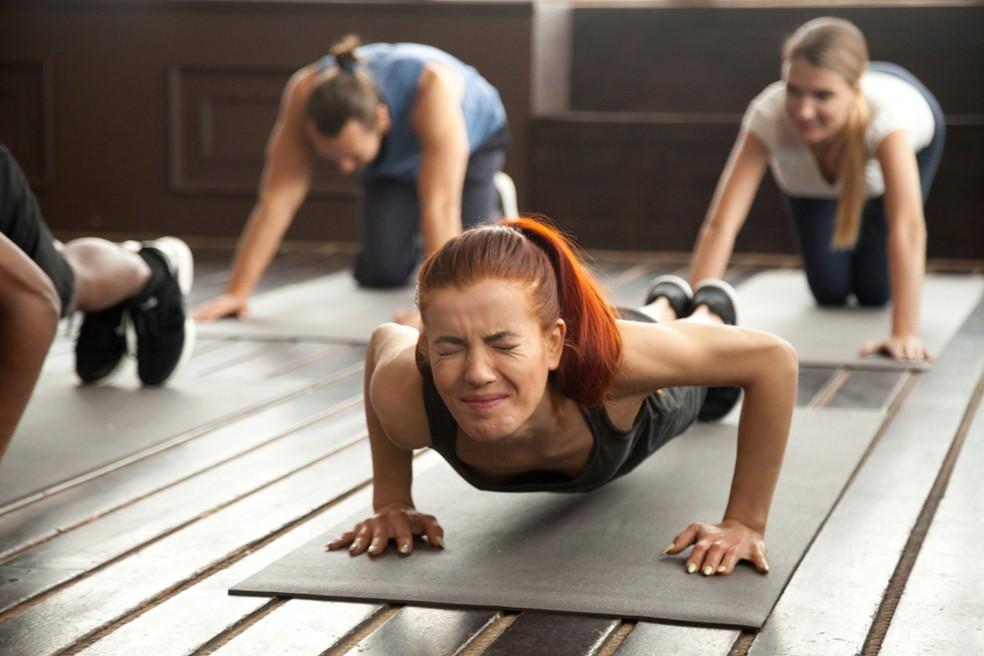 Falta de preparo muscular é uma das principais causas de lesões. — Foto: Shuterstock