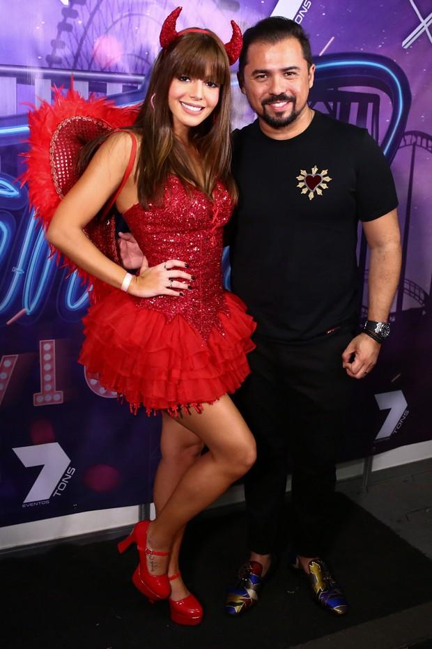 Giovanna Lancellotti e Xand Avião (Foto: Roberto Filho/Brazil News)