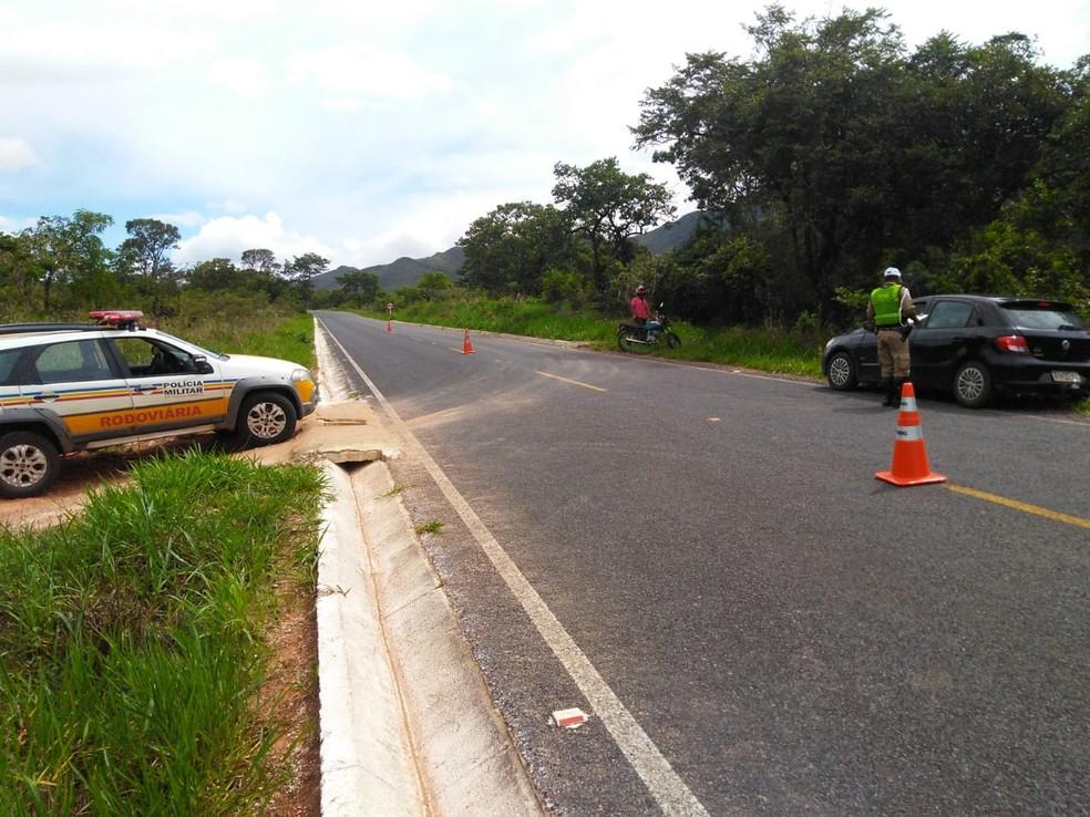 Campanhas preventivas foram deflagradas pela Polícia Militar Rodoviária no Norte de Minas — Foto: Polícia Militar/Divulgação