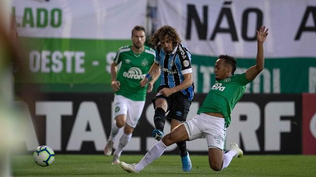 Chapecoense x Grêmio: Tricolor levou a melhor neste domindo