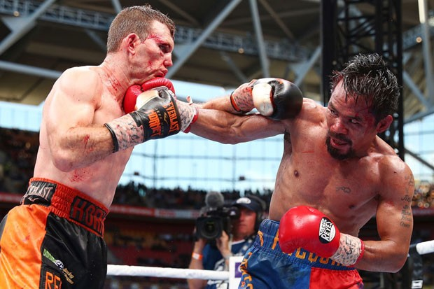 Jeff Horn luta com Manny Pacquiao (Foto: Chris Hyde/Getty Images)