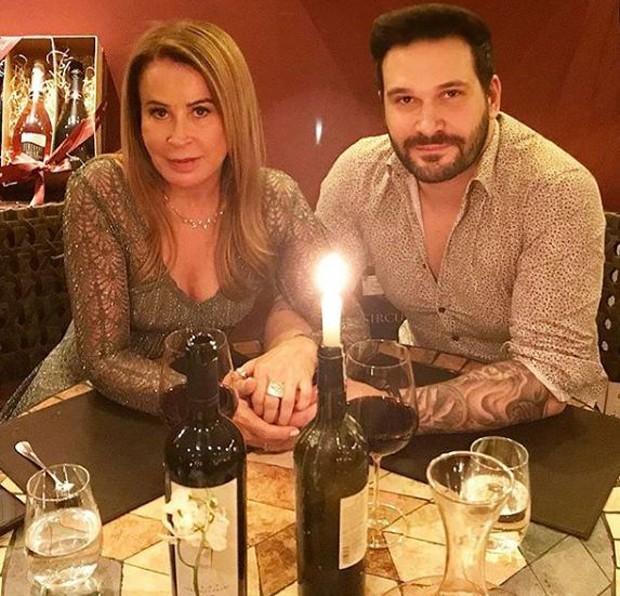 Jantar de Dia dos Namorados de Zilu (Foto: Reprodução/Instagram)
