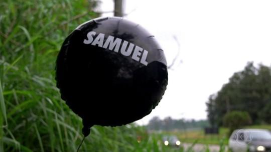 Balão em homenagem a vítimas de massacre viaja 17 km até Suzano