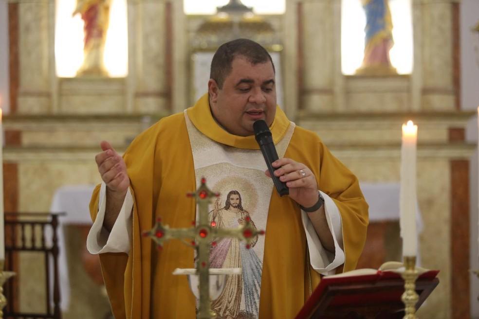 Padre Hachid Ilo morre por complicações da Covid-19, em Campina Grande — Foto: Hachid Ilo/Arquivo Pessoal