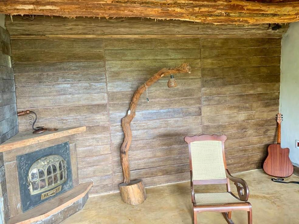 Casa Hobbit de Jundiaí tem decoração semelhante ao filme  — Foto: Arquivo Pessoal