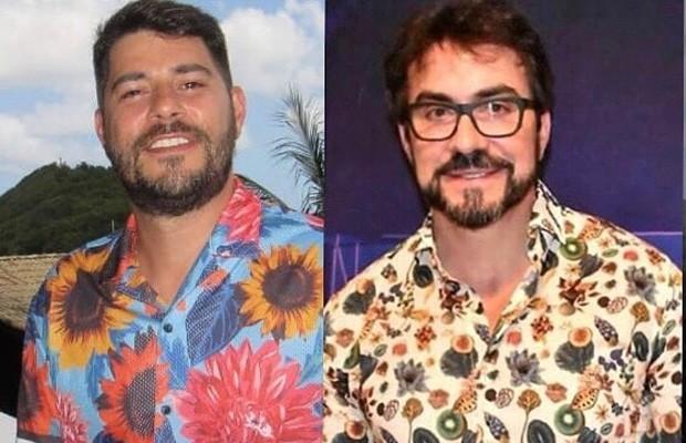 Evaristo Costa e padre Fábio de Melo (Foto: Reprodução/Instagram)