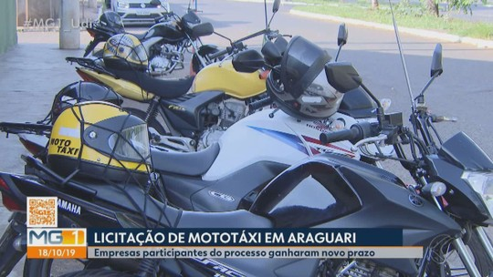 Nenhuma das 15 empresas participantes é aprovada em licitação para serviço de mototáxi em Araguari