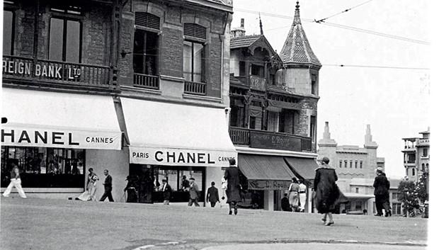 Loja da Chanel em Biarritz inaugurada em 1915 – a Costa Basca era o destino preferido do high-society desde o século 19 (Foto: Emmy Martens, Thinkstock e Divulgação/Chanel)