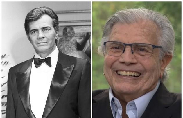 Tarcísio Meira, que está no elenco de 'Orgulho e paixão', era Renato Villar, o protagonista da trama exibida pela Globo em 1986 (Foto: Reprodução)