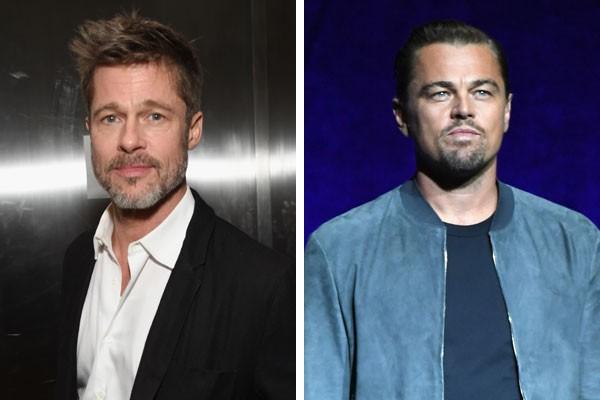 Brad Pitt e Leonardo DiCaprio (Foto: Getty Images)