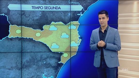 Estiagem em SC deixa rios em situação de emergência; previsão é de tempo seco nesta segunda