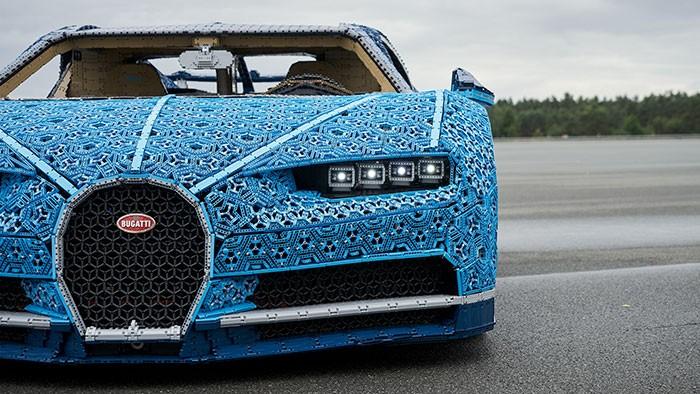 Lego cria réplica de carro que funciona (Foto: divulgação)