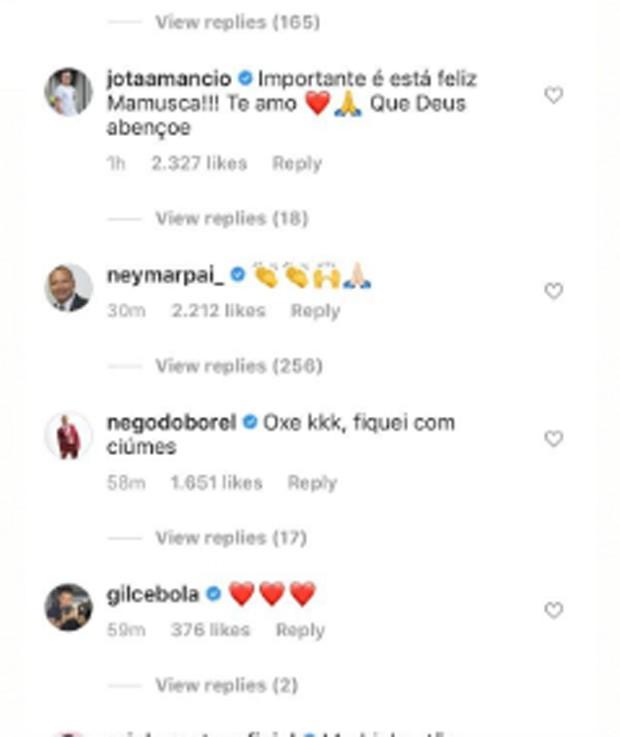 """Mãe de Neymar assume romance com gamer e craque aprova: """"Seja feliz, mamãe"""" 2"""
