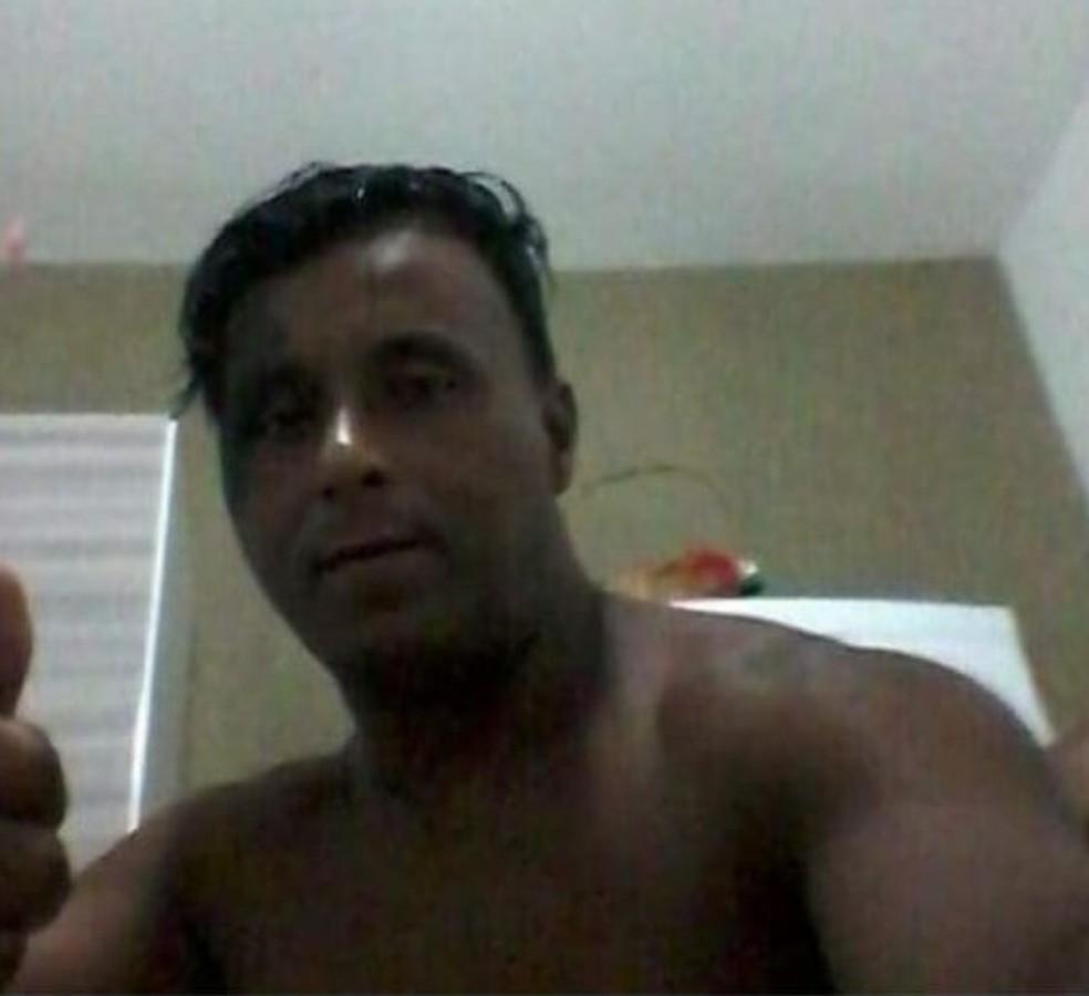 Oberdan Gonçalves Braga foi preso após agredir mulhe e ela morrer em hospital em Barra Mansa — Foto: Arquivo Pessoal