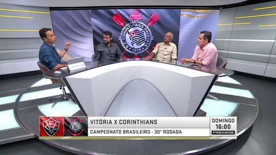 Seleção analisa risco de rebaixamento do Corinthians