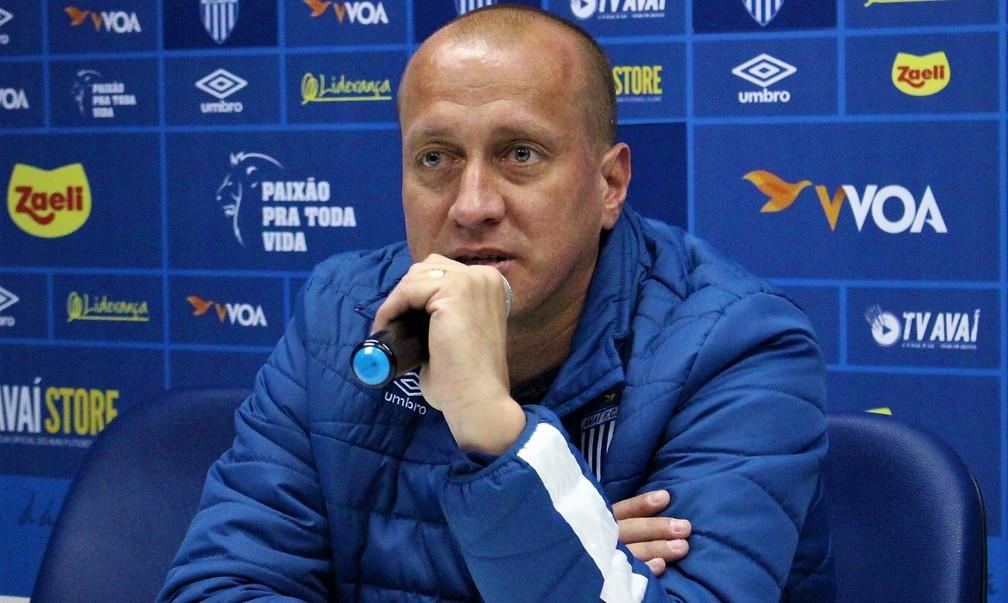 Marquinhos acredita que Avaí estará mais forte em 2020 — Foto: André Palma Ribeiro/Avaí FC
