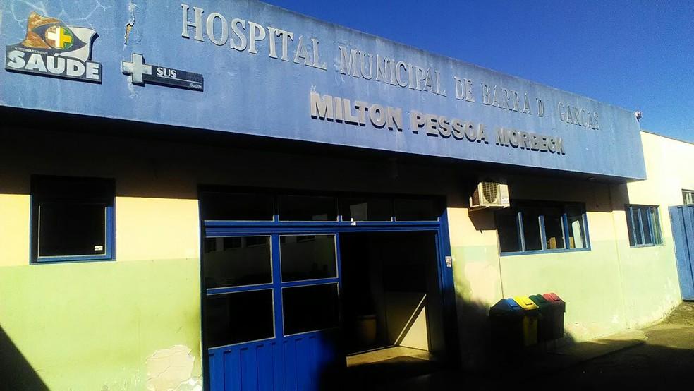 Hospital Municipal Milton Pessoa Morbeck, em Barra do Garças (Foto: Ivan de Jesus/Centro América FM)