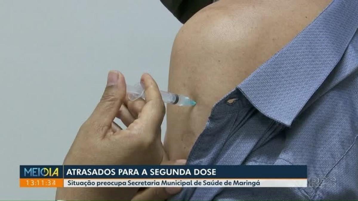 Dois mil maringaenses estão com a 2ª dose da vacina contra a Covid-19 em atraso