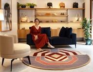 Luiza Perea desenvolve linha exclusiva de tapetes para Westwing