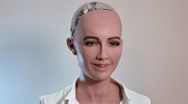 Sophia é o destaque da  Hanson Robotics (Foto: Reprodução)