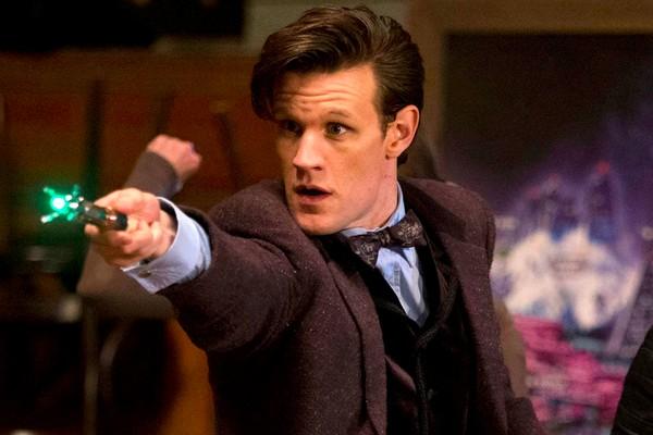O aor Matt Smith como o protagonista da série Doctor Who (Foto: Instagram)