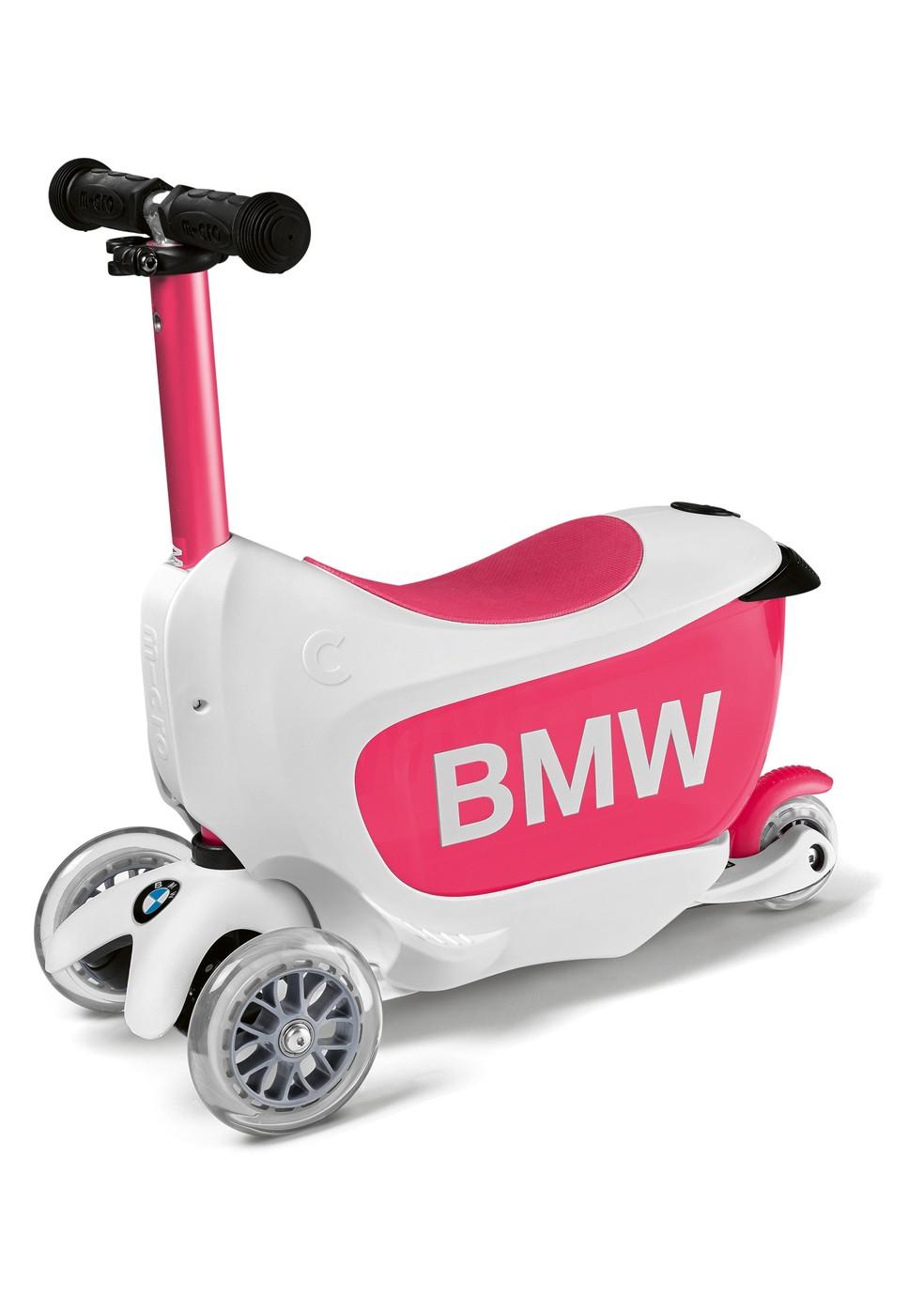 Patinete para crianças da BMW — Foto: BMW/Divulgação