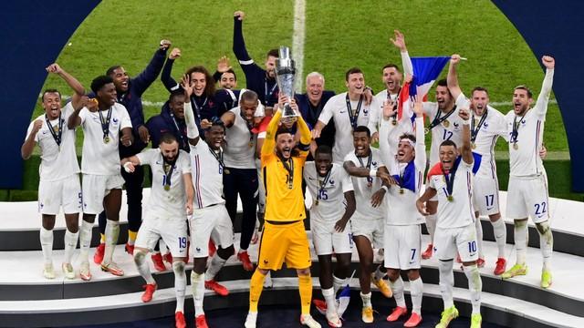 França conquista a segunda edição da Liga das Nações, ao vencer de virada a Espanha