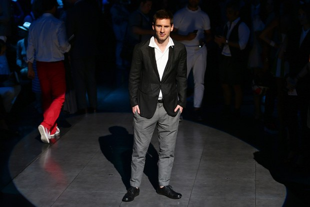 Messi e Dolce & Gabbana (Foto: Getty Images)