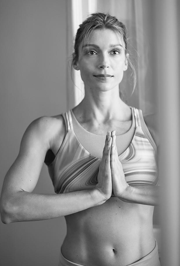 Dany Sá, instrutora de yoga (Foto: divulgação)