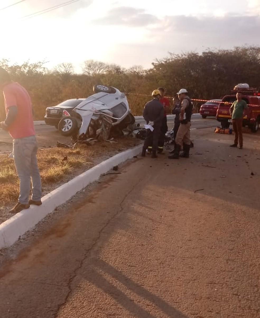 Mulher morre após se envolver em acidente (Foto: João Fernando Cardoso/Arquivo pessoal)