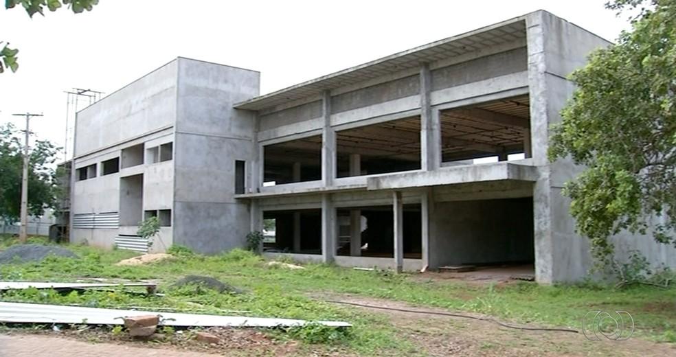 Curso de medicina nunca funcionou em Araguaína  (Foto: Reprodução/ TV Anhanguera )