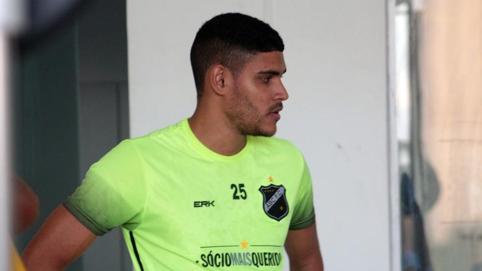 Jefinho, atacante, ABC — Foto: Sérgio Pastel/ABC