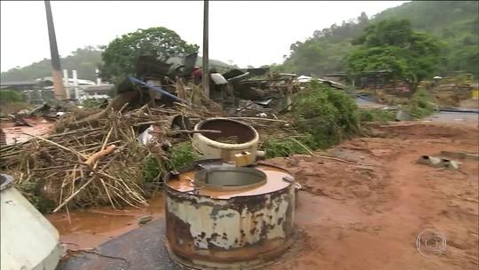 Governo federal reconhece situação de emergência em 14 cidades mineiras atingidas pela chuva