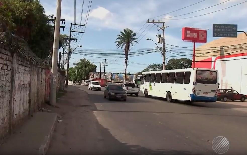 Antigo bairro de Cajazeiras, que foi desmembrado em 13 localidades, é impactada pelas mudanças â?? Foto: Reprodução/ TV Bahia