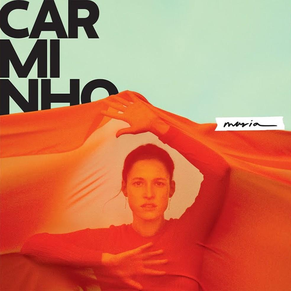 Capa do álbum 'Maria', de Carminho — Foto: Mariana Maltoni com arte de Giovanni Bianco