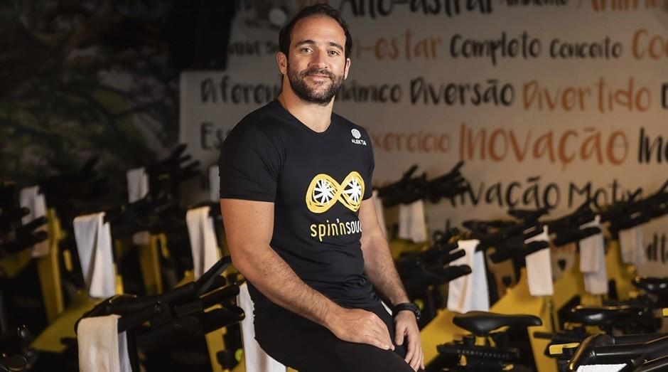 Daniel Nasser, fundador da Spin 'n' Soul: pedalando rumo ao sucesso (Foto: Luiz Maximiano)