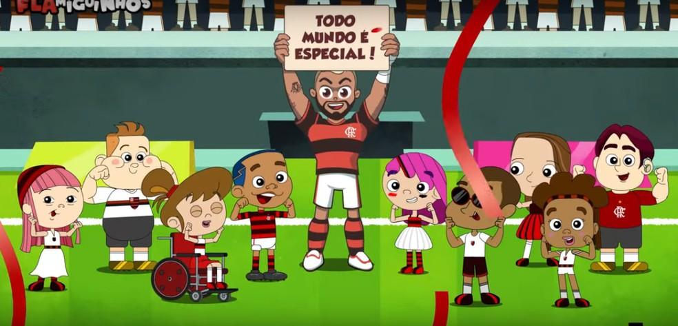 Gabigolzinho: atacante do Flamengo lança personagem infantil