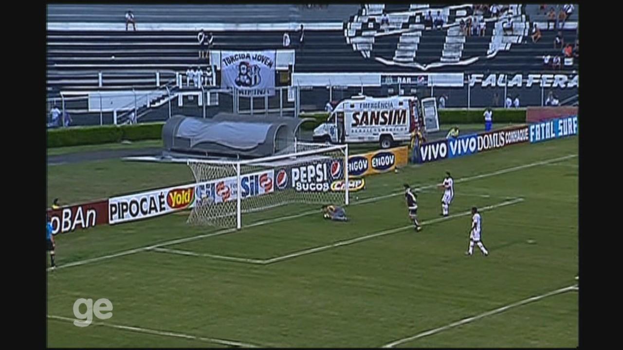 Gol de Renatinho no empate da Ponte Preta em 1 a 1 com o Linense, pelo Paulistão